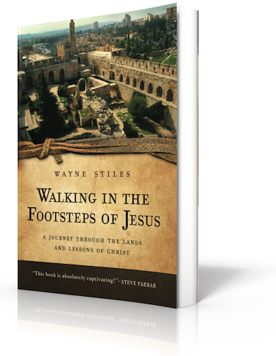 WALKING IN THE FOOTSTEPS OF JESUS (autographed softcover)