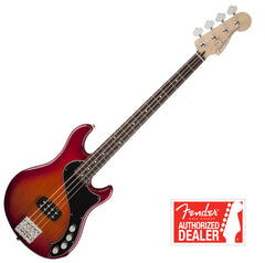 FENDER Dimension Deluxe Bass IV , Rosewood Neck - Aged Cherry Burst | Basse FENDER Dimension Deluxe IV , Touche en Rosewood - Aged Cherry Burst - Centre de musique Victor