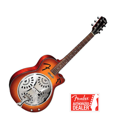 Fender Guitar Resonator FR-50 CE Sunburst | Fender Guitar Resonator FR-50 CE Sunburst - Centre de musique Victor
