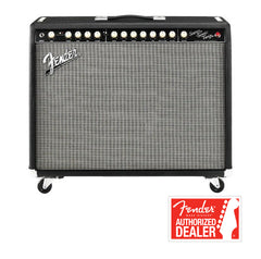 FENDER Guitar amplifier Super-Sonic Twin 100W - Black/silver | Amplificateur Guitare FENDER Super-Sonic Twin 100W - Noir/argent - Centre de musique Victor