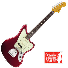 FENDER Jaguarillo Guitar Rosewood neck - Candy Apple Red | Guitare FENDER Jaguarillo manche Rosewood - Candy Apple Red - Centre de musique Victor