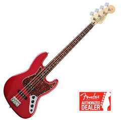 FENDER Jazz Bass Deluxe Active , Rosewood Neck - Candy Apple Red | Basse FENDER Jazz Deluxe Active , Touche en Rosewood - Candy Apple Red - Centre de musique Victor