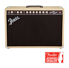 FENDER Super-sonic 60 Guitar amplifier - Blonde | Amplificateur Guitare FENDER Super-sonic 60 - Blonde - Centre de musique Victor