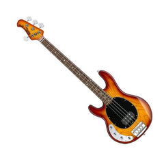 STERLING bass Ray 4 strings left - Black | Basse STERLING Ray 4 cordes gauchère - Honeyburst - Centre de musique Victor