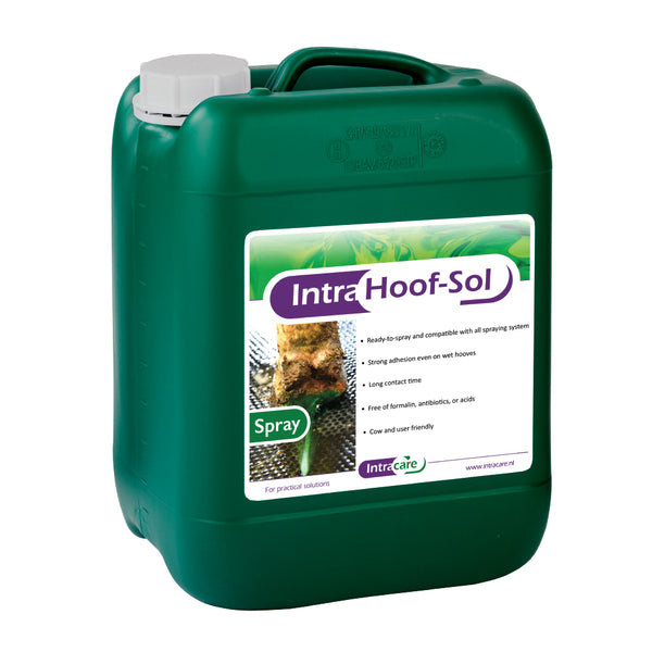 Intra Hoof-Sol SPRAY Prêt à utiliser 20 litres  |  Intra Hoof-Sol SPRAY Ready-to-spray 20 liters