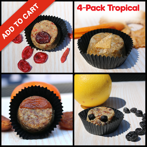 Tropical Fruit Collection 4-Pack Box (32 Cookies)