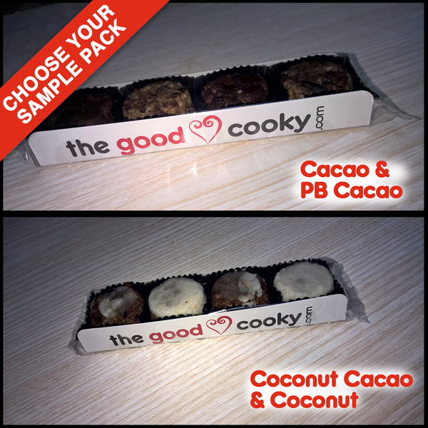Good Cooky Sample Pack - Shipping Included (4 Cookies)