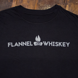 Flame Logo - Black