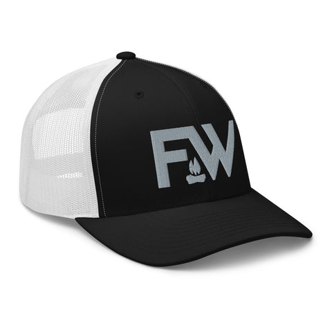 FW 6 Panel - Black/White