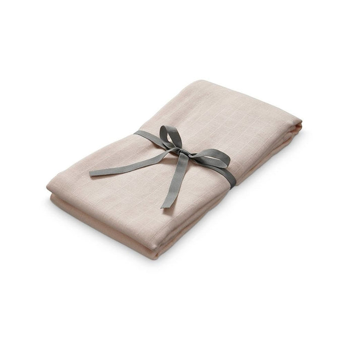 Muslin Swaddle - Nude - Blue Sage Baby + Kids