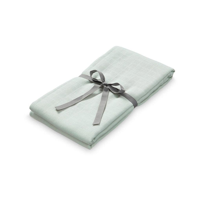 Muslin Swaddle - Mint - Blue Sage Baby + Kids