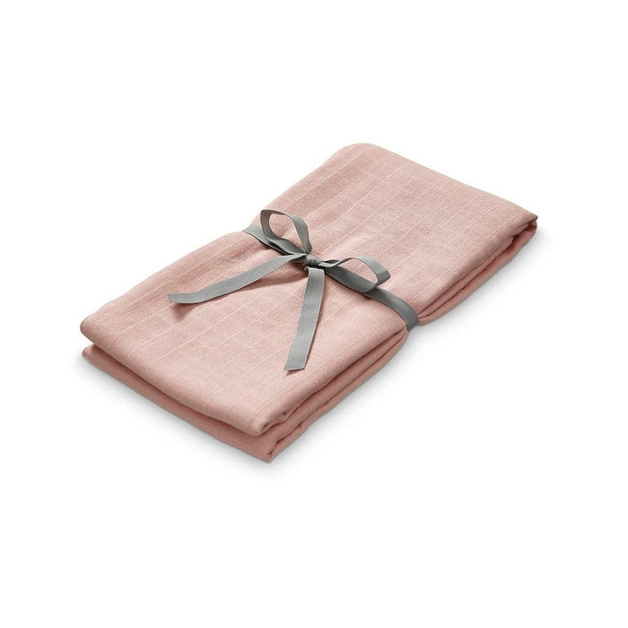 Muslin Swaddle - Blush - Blue Sage Baby + Kids