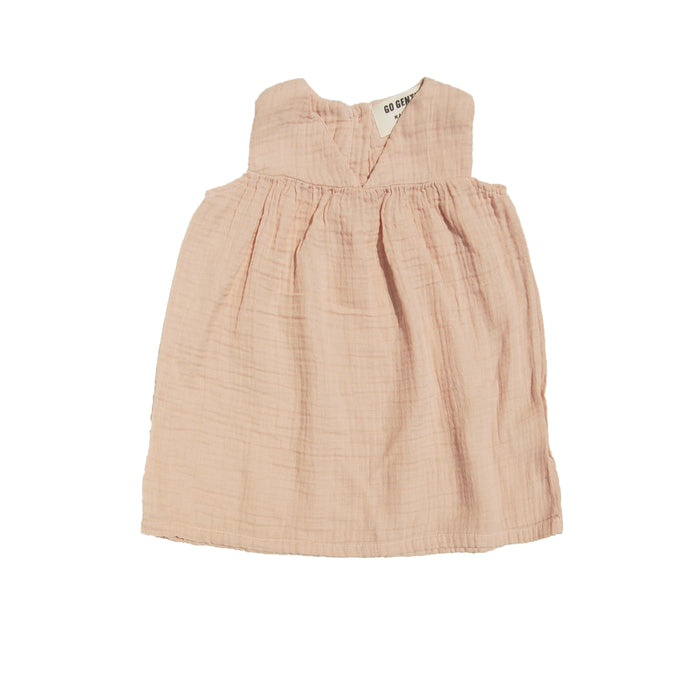 Gauze Dress - Desert Pink - Blue Sage Baby + Kids