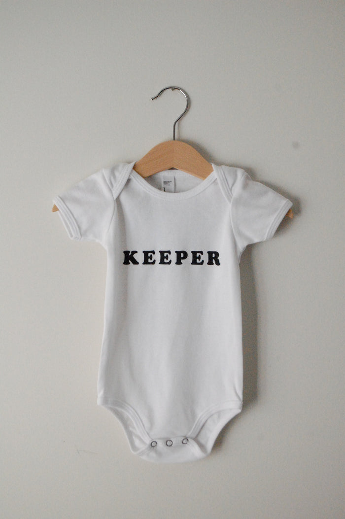 Keeper Onesie - Blue Sage Baby + Kids