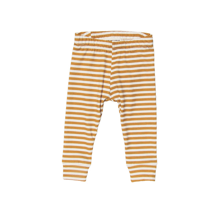 Pencil Pant - Golden Stripe - Blue Sage Baby + Kids