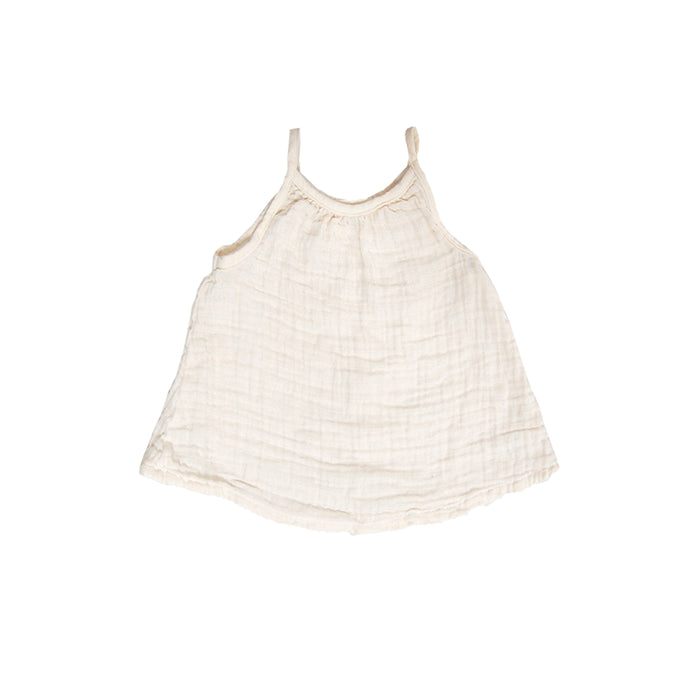 Gauze Top - Natural - Blue Sage Baby + Kids