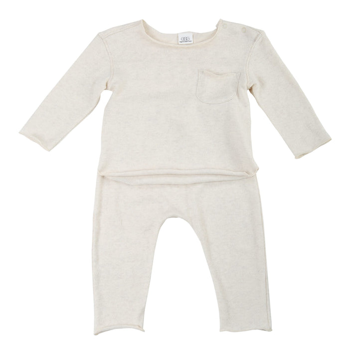Bobbi Set - Oat - Blue Sage Baby + Kids