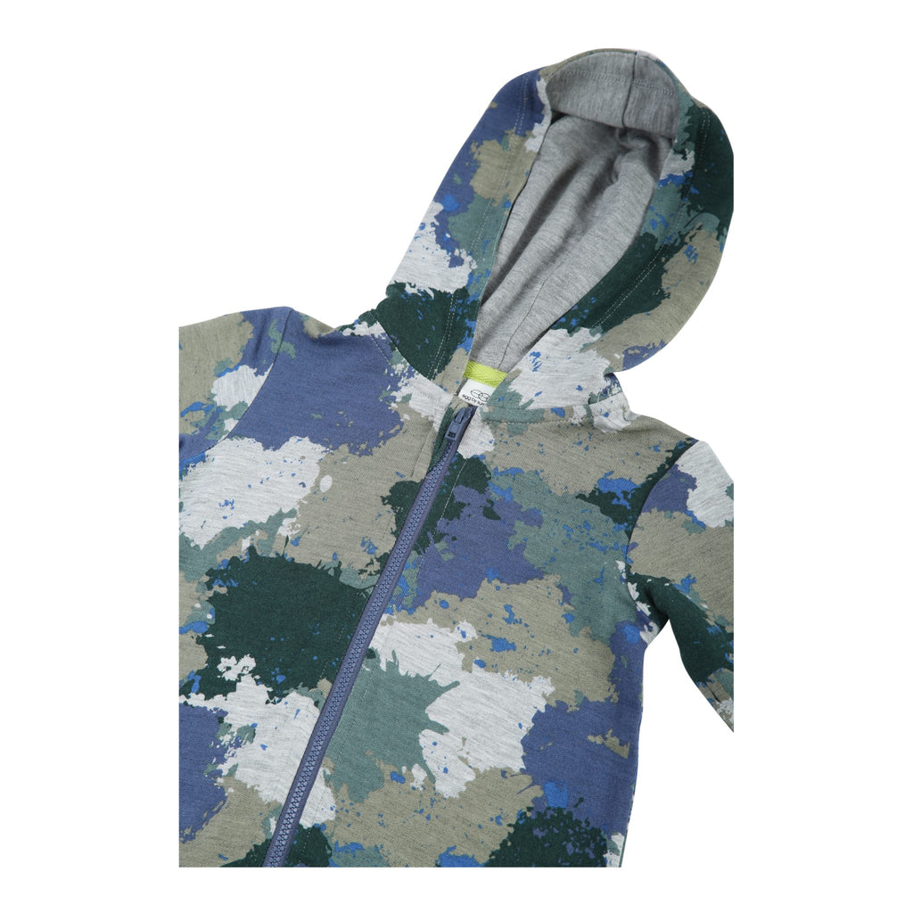 Ninja Hooded Romper - Blue Sage Baby + Kids