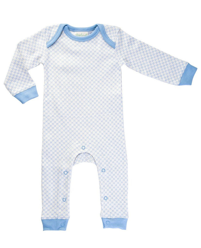 Little Boy Blue Romper - Blue Sage Baby + Kids