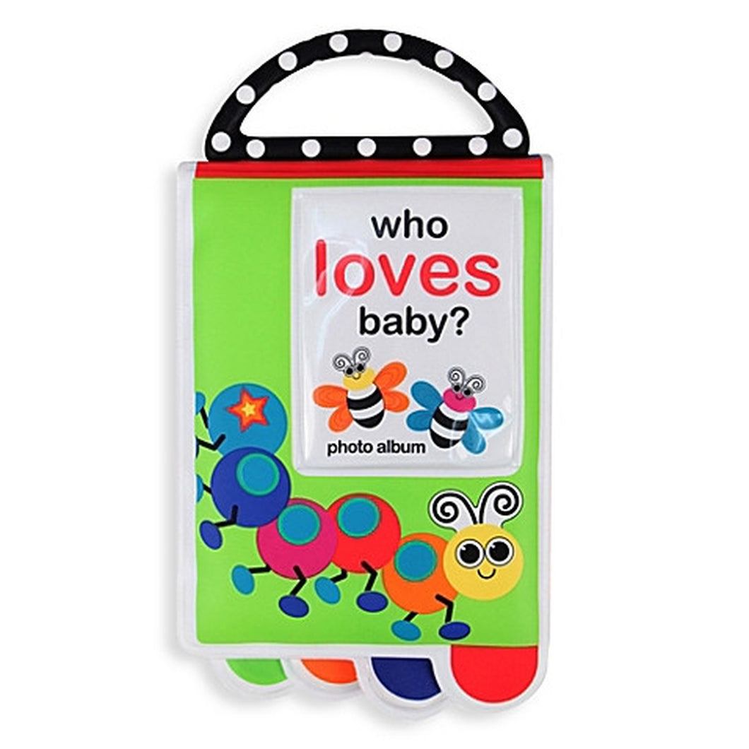 Baby Photo Album and Teether