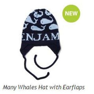 Knit Hat with Earflaps-Boys (click to see more)