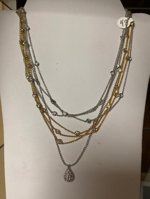 Diamonds by the Yard Layered Necklace