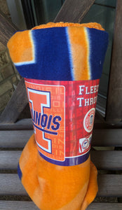Fleece Blanket - University of Illinois