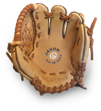 Personalized Baseball Glove For Babies and Toddlers