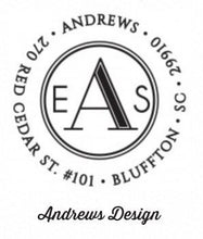Personalized Stamper: Andrews Design
