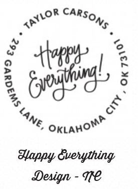 Personalized Stamper-Happy Everything