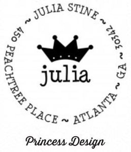 Personalized Stamper-Princess