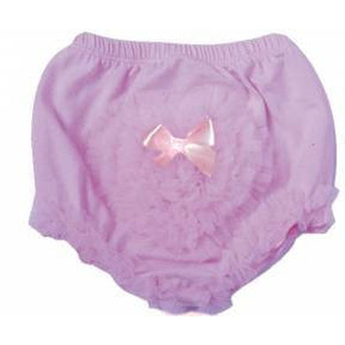 Pink Heart Baby Bloomers