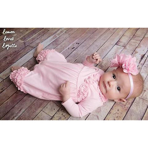 Rose Romper with Headband