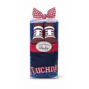 Touchdown Diaper Cover and Socks Set