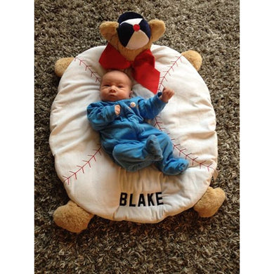 Baby Blake on Baseball Cozy