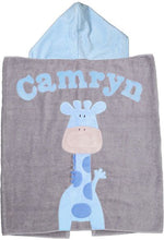 Hooded Toddler Towel -Animals  (Click to see more)