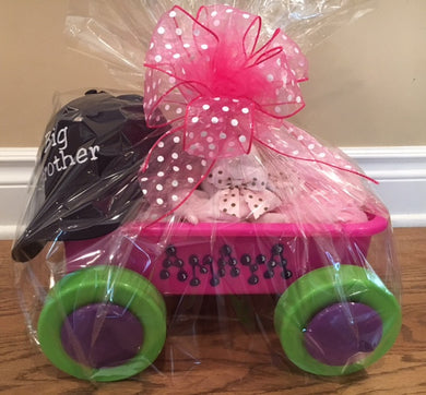 Bundle in Pink Wagon