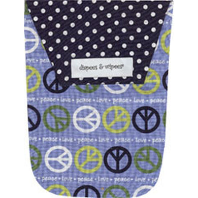 Diapees and Wipees Blue Peace