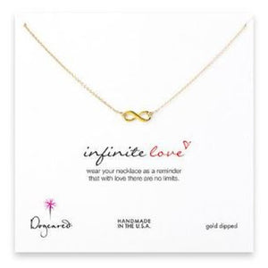Necklace-Dogeared Infinite Love