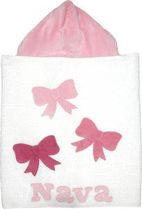Hooded Toddler Towel - Girl Power (Click to See More)