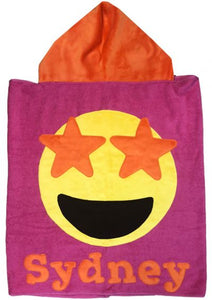 Hooded Toddler Towel - Emojis (Click to See More)