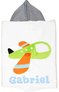 Hooded Toddler Towel - Transportation  (Click to See More)