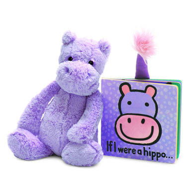 If I Were a Hippo Book and matching plush Hippo