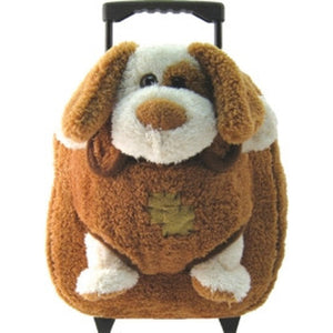 Rolling Backpack with Plush Pal (click to see more)