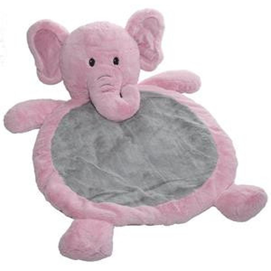 Baby Mat Elephant -Pink/Grey, Blue/Grey or White/Grey