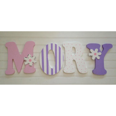 Wall Letters-Mory Style