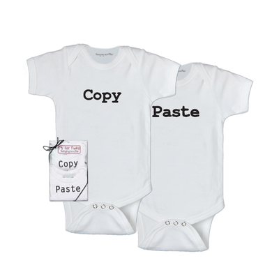 Onesies- Copy and Paste