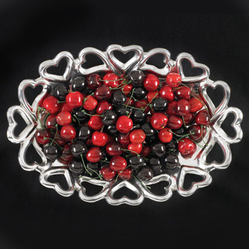 Heart to Heart Oval Bowl