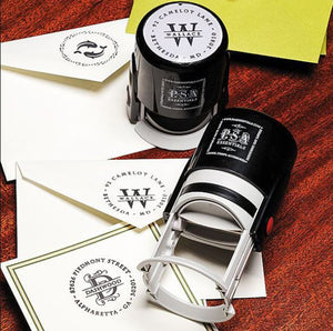 Personalized Stamper Antique Cipher