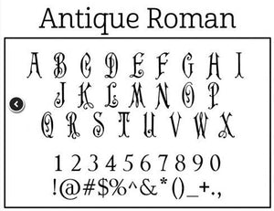 Personalized Stamper Antique Roman